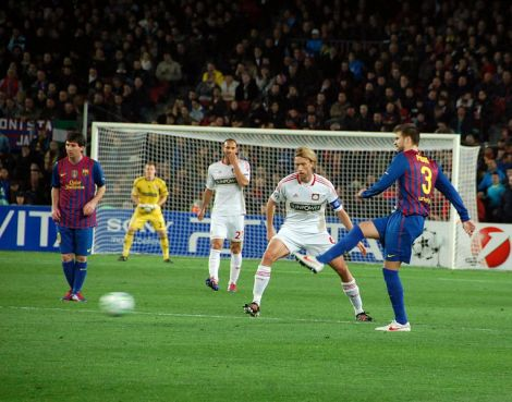 Barcelona - Bayer Leverkusen, 7 March 2012
